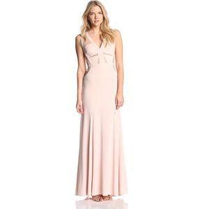 Bcbgmaxazria Cristy sleeveless evening gown